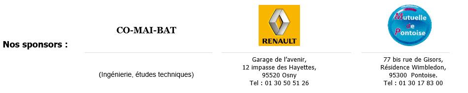 CO-MAI-BAT, RENAULT Garage de l'Avenir, Mutuelle de Pontoise