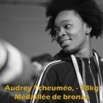 Audrey Tcheuméo 3ème