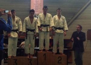 podium des - 60kg
