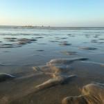 Sur le sable doux